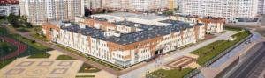 Участие в строительстве школы по ул.Аксакова